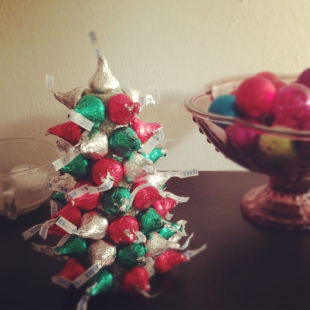 Diy Hersheys Kiss Mas Trees Yes I Hate Myself For That Pun