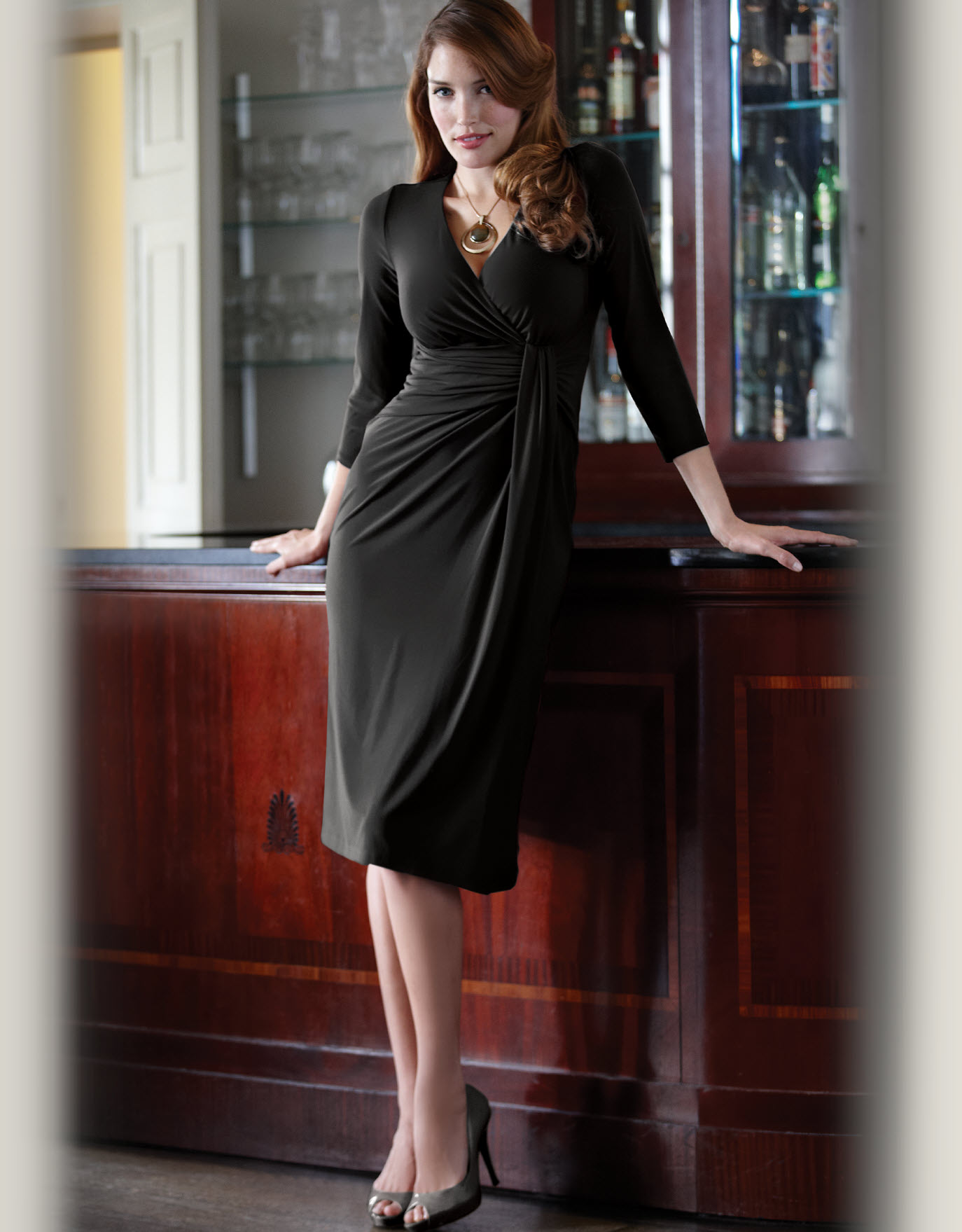 Drape Jersey Dress.  Available in sizes 08-18 (UK) Curvy/Really Curvy and Really Curvy/Super Curvy (some sizes sold out).  £55.00 (about $88.09 USD)