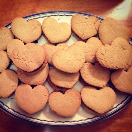 how to make heart shaped cookies without a cookie cutter