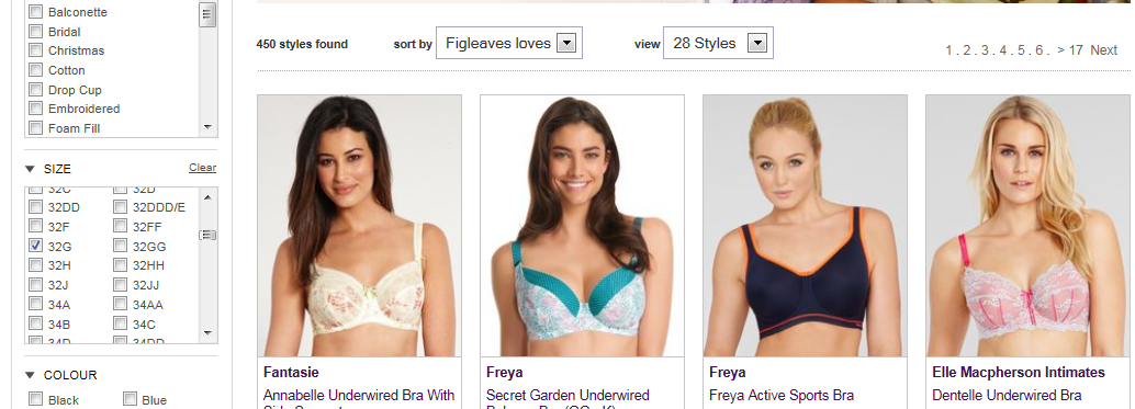 And Then There Were None: Strapless Bras for G+ Cup Sizes ...  And Then There ...