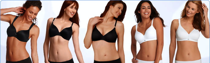 The 5 Jockey Bra Styles: Classic Contour, Tailored Contour, Double-Lined Contour, Classic Soft Cup, Double-Lined Soft Cup