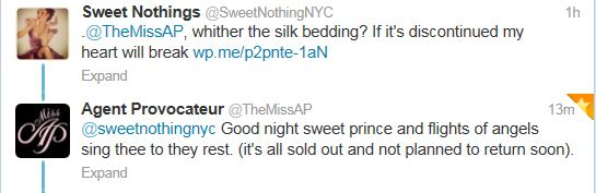 Okay, yes I'm sad, but I'm now also kind of in love with AP's social media person.