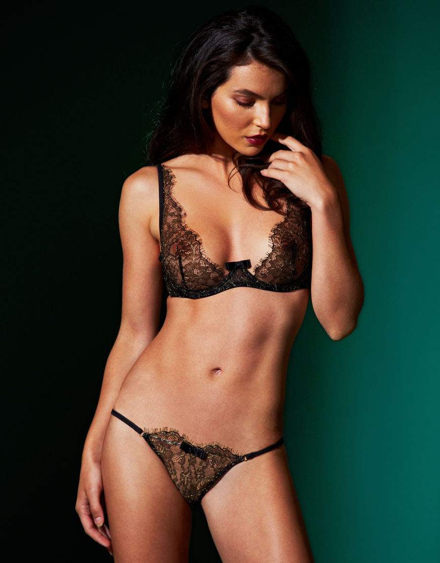 """Jardin Imperial"" by Maison Close ($87/67).  Available in sizes 32-36 B-D"