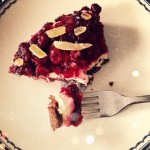 Chocolate-Cranberry Mascarpone Tart