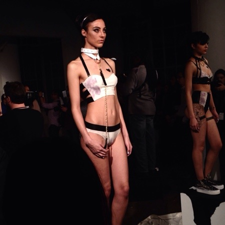 The Muse of the Violets by FYI by Dani Read at Lingerie Fashion Week Fall/Winter 2014