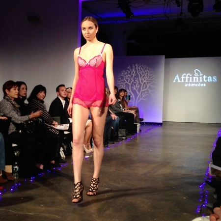 Affinitas & Parfait at Lingerie Fashion Week Fall/Winter 2014