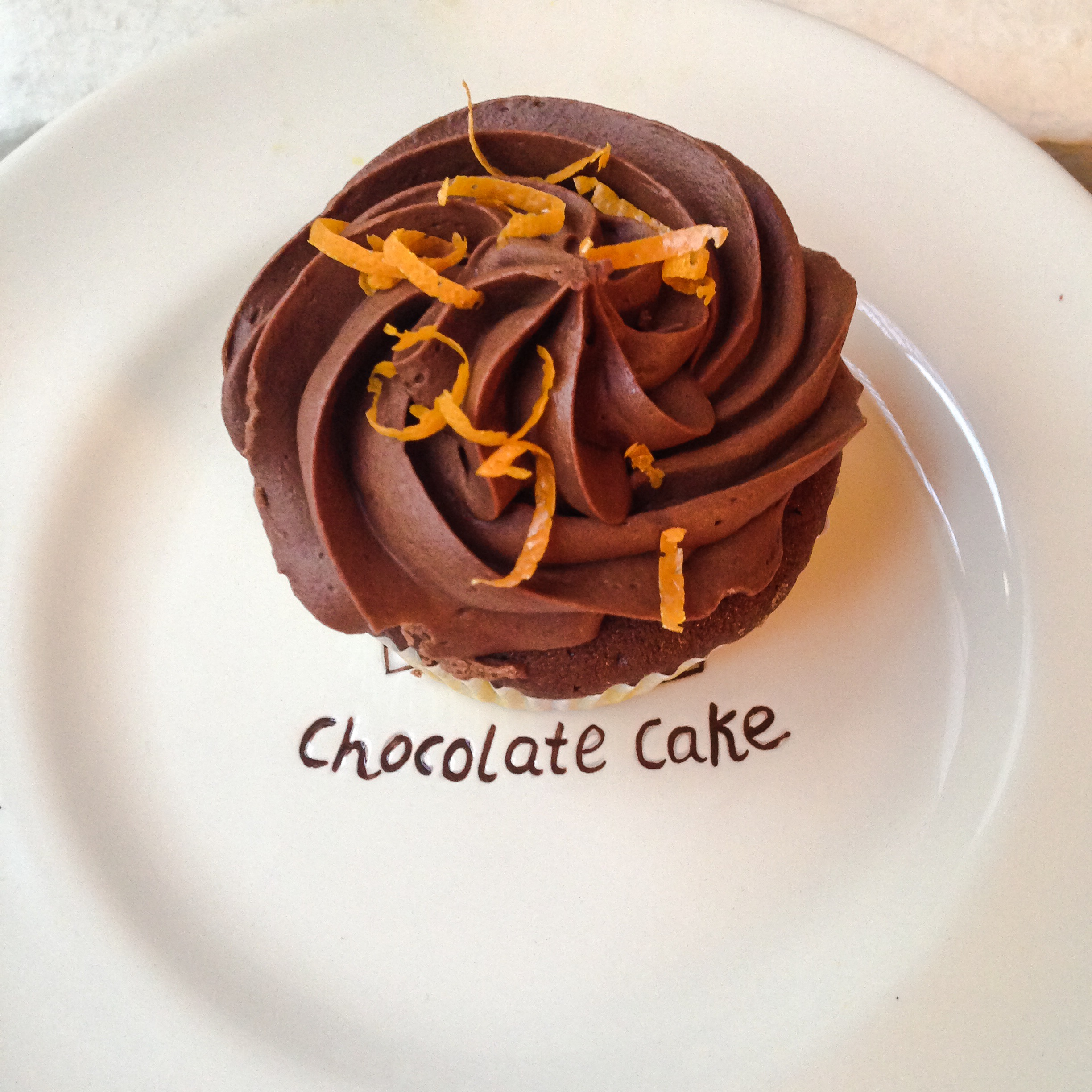 Chocolate Cupcakes with Chocolate-Orange Buttercream | Sweet Nothings ...