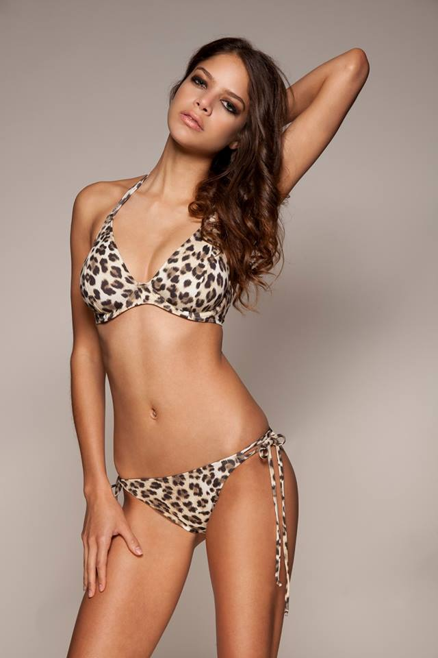 """Vegas Baby"" Bikini and Tie-Side Bikini Brief by Miss Mandalay. 30-38 D-GG UK and XS-XL."