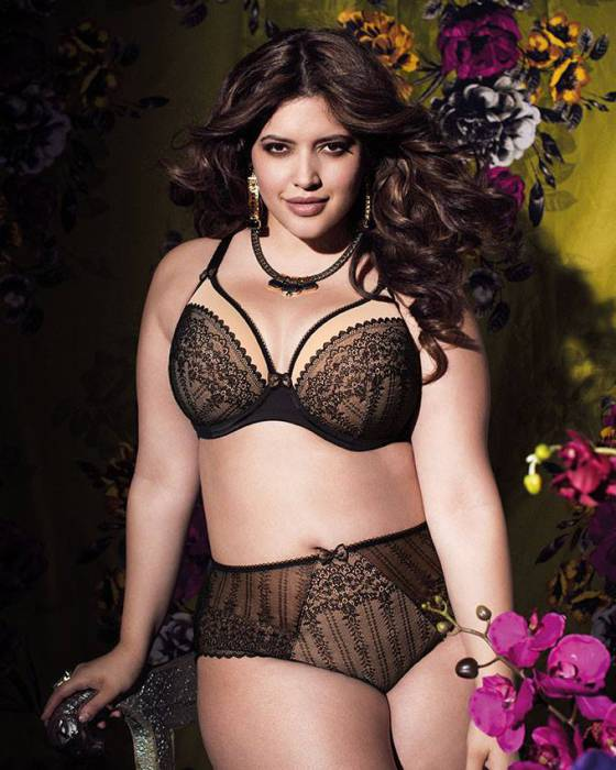 """Bijou Soiree"" by Elomi. Available in sizes 36-44 E, 34-44 F-G, 34-42 GG, H (UK)"