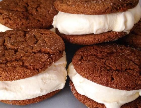 Recipe Lemon Gingersnap Ice Cream Sandwiches