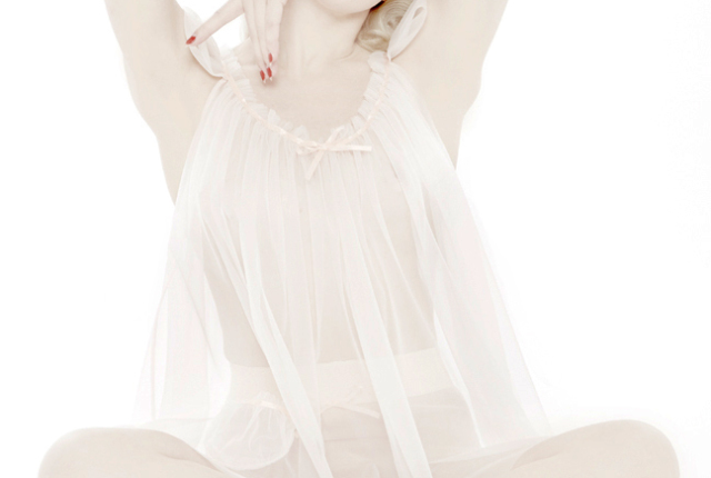 Love Letters Babydoll and High-Waist Knickers by Dottie's Delights. XS-2XL (with custom sizing available)