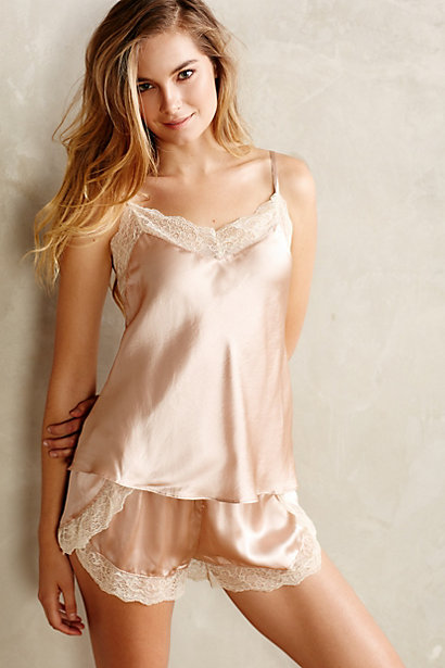 Blushed Silk Cami and Short by Eloise