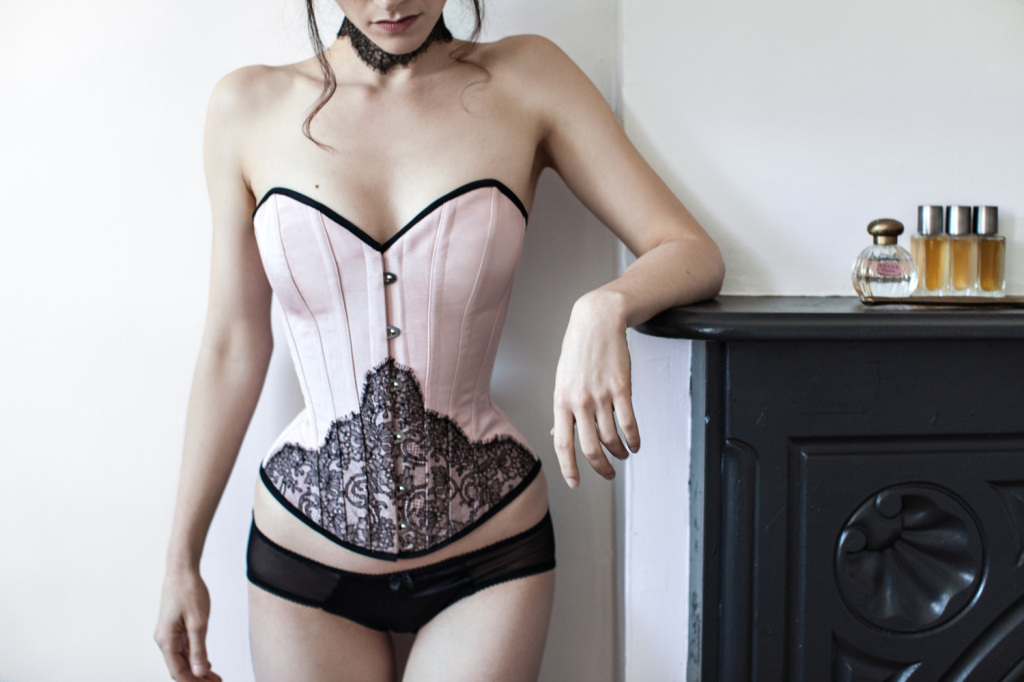 Evelyn Corset ($495) (XS-XL, plus custom sizes) by Angela Friedman