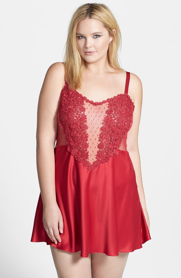 Showstopper Chemise by Flora Nikrooz
