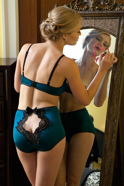 Vamp High-Waist Panties by Toad Lillie