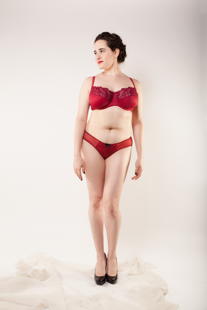 Introducing Samanta Lingerie: Hana collection. Model: Sweet Nothings, Photography: Studio Rezin