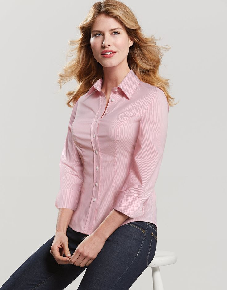 Pepperberry Classic Shirt in Candy Stripe