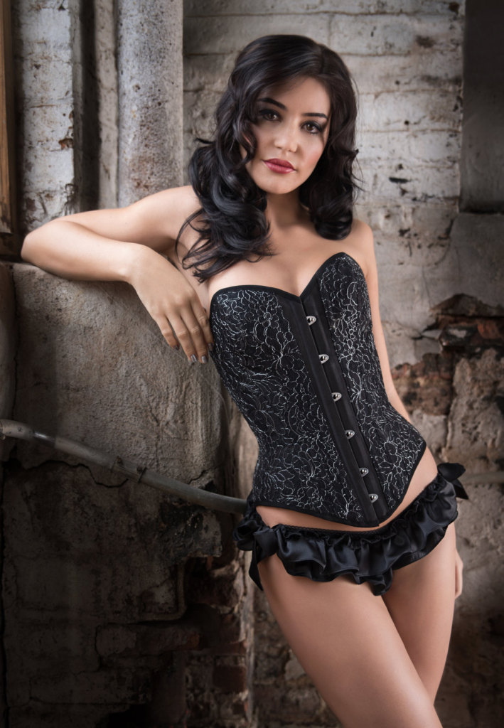 Lavinia overbust corset by Angela Friedman