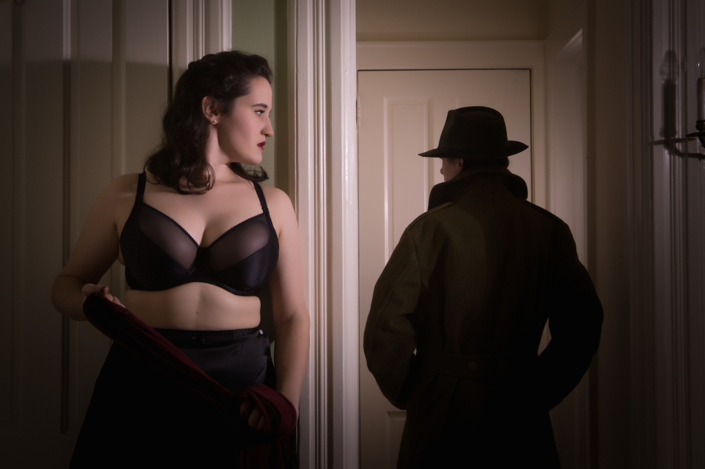 Sweet Nothings Holiday 2015: Women of Mystery- Agent Carter. Photo: Steven Rosen Photography