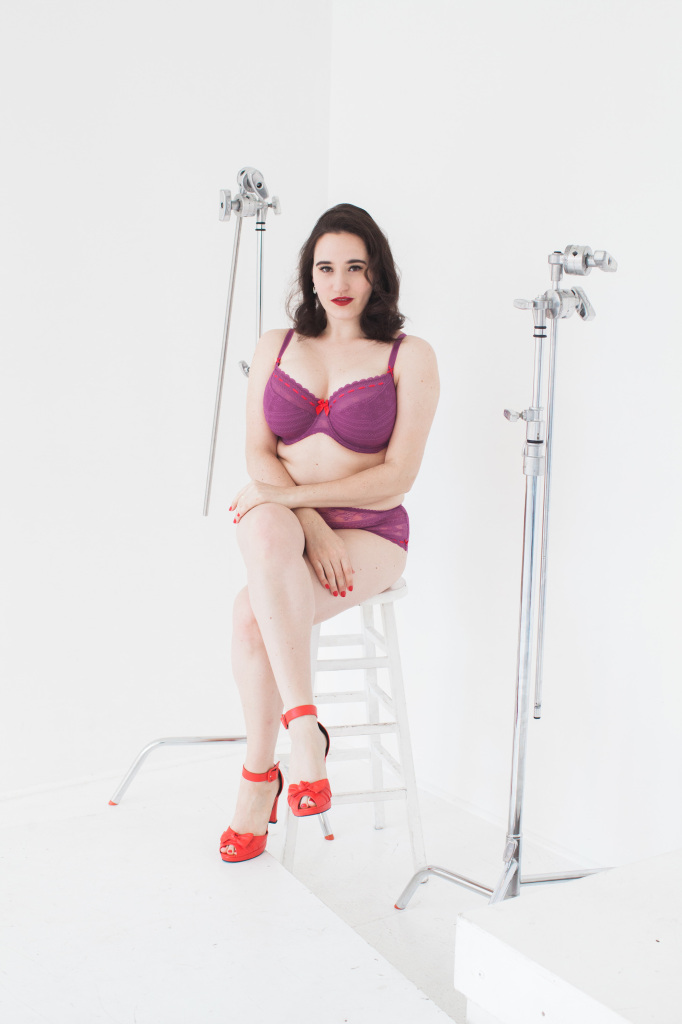 Sweet Nothings reviews Tutti Rouge Liliana Magenta/Scarlet. Photo: Lydia Hudgens
