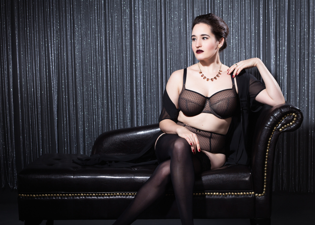 Sweet Nothings reviews Panache Black Esme collection. Photo: Studio Rezin