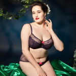 Review: Claudette Darling Bra and Brief in Gothic Grape