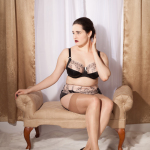 Review: Bravissimo Peony Bra, Short, and Suspender Belt