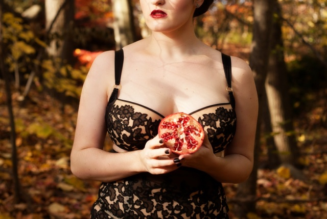 Sweet Nothings Holiday 2016 Women of Myth: Persephone. Photo (c) Michi Rezin