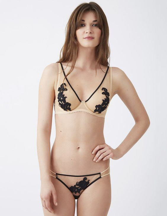 Mimi Holliday Toffee Shoulder Bra