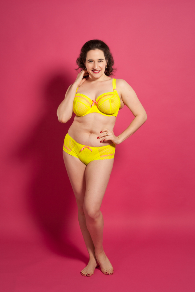 Sweet Nothings reviews Freya Pulse Bra and Short in Zest. Photo (c) Michi Rezin