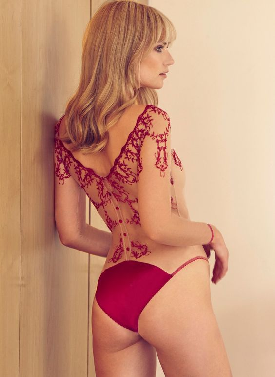Fleur of England Dare Body - Back View