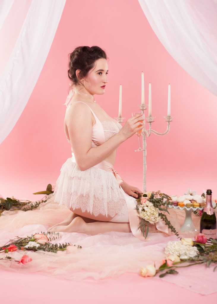 Sweet Nothings reviews bespoke lingerie by Harlow and Fox. Photo (c) Michi Rezin