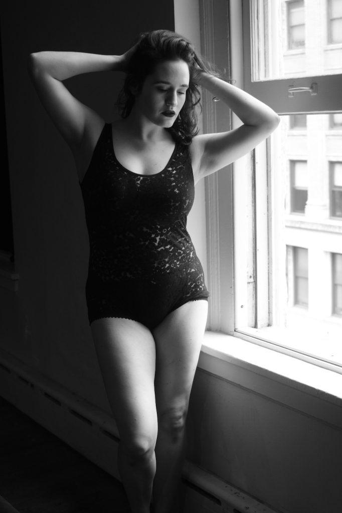 Sweet Nothings wears Dottie's Delights Hawa Bodysuit. Photo (c) Tessa Flannery