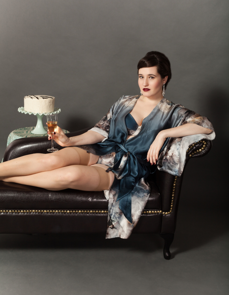 Sweet Nothings' good-bye post, featuring Harlow and Fox's Octavia collection and also cake. Photo (c) Michi Rezin