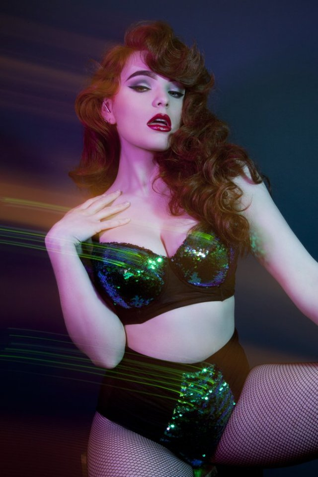 Peek and Beau Tallulah Sequin Bra and Brief, US 32-42 A-I, 4-24 ($39/26)