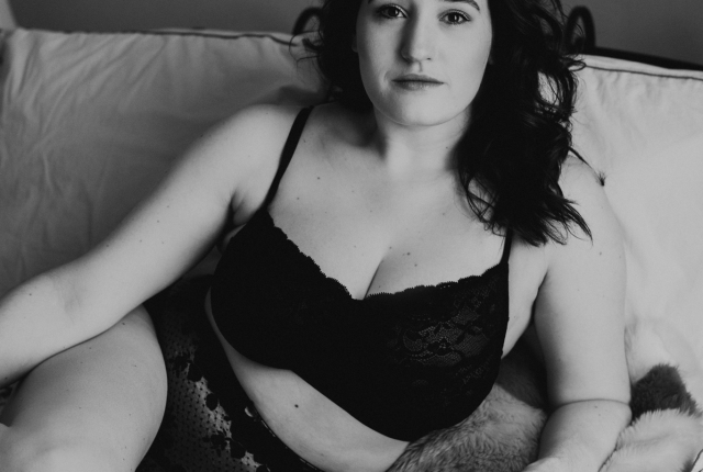 Sweet Nothings x Broad Lingerie. Photo (c) Sylvie Rosokoff