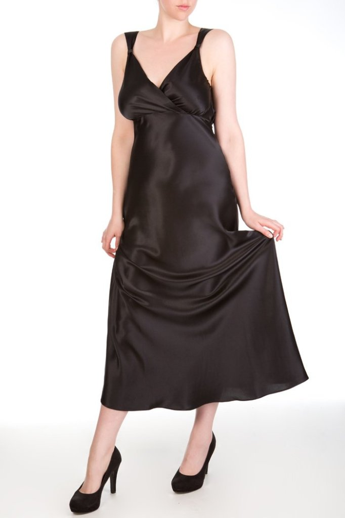 Harlow & Fox Persephone Draped Back Gown, Small-Large DD-F/FF-G