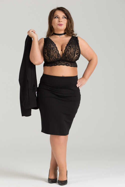 Ewa Michalak Maskarada Crop Top, 30-44 D-KK (UK/Polish sizes)