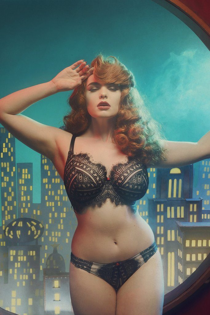 Playful Promises Aida fuller bust bra and brief