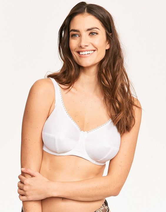 Fantasie Specialty Underwire Bra (cotton-lined cups for comfort and breathability), $40, 30-44 B-GG (UK)