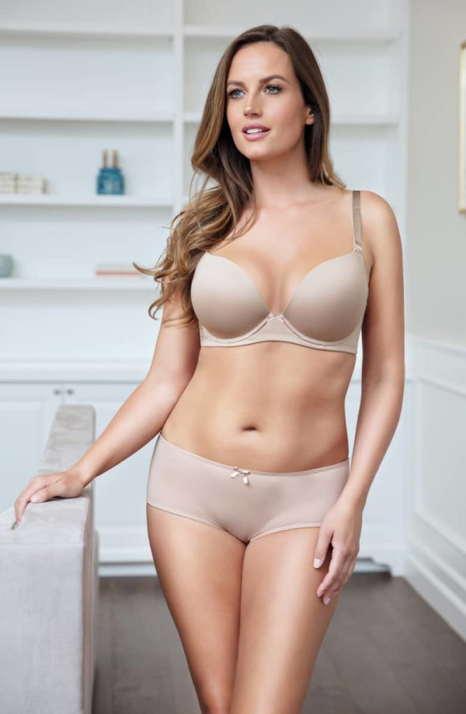 Parfait Emma Full-Figure Convertible Plunge Bra, $48, 30-44 C-G (UK)