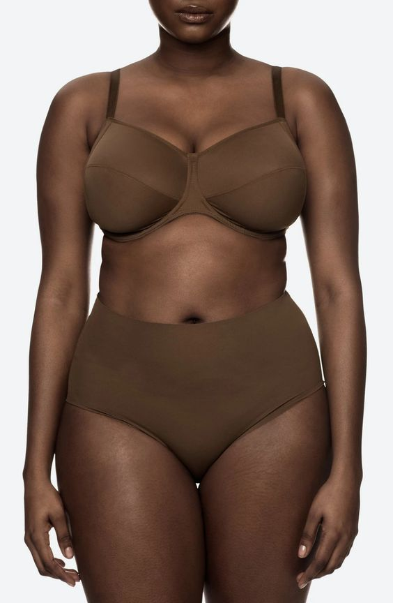 Nubian Skin Naked Fuller Bust Bra in Berry, 30-40 band sizes and DD-G cup sizes