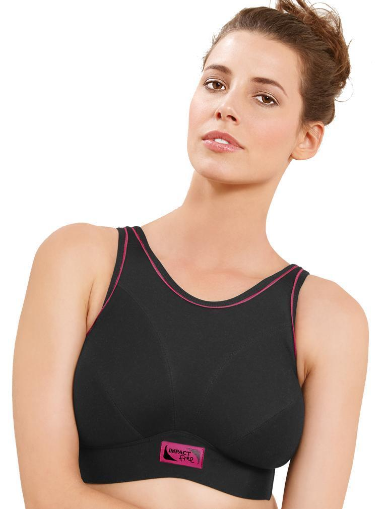Royce Impact Free Wireless Sports Bra, 32-40 band sizes and G-K cup sizes
