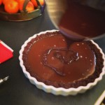 Holiday Tart, in Chocolate and Caramel