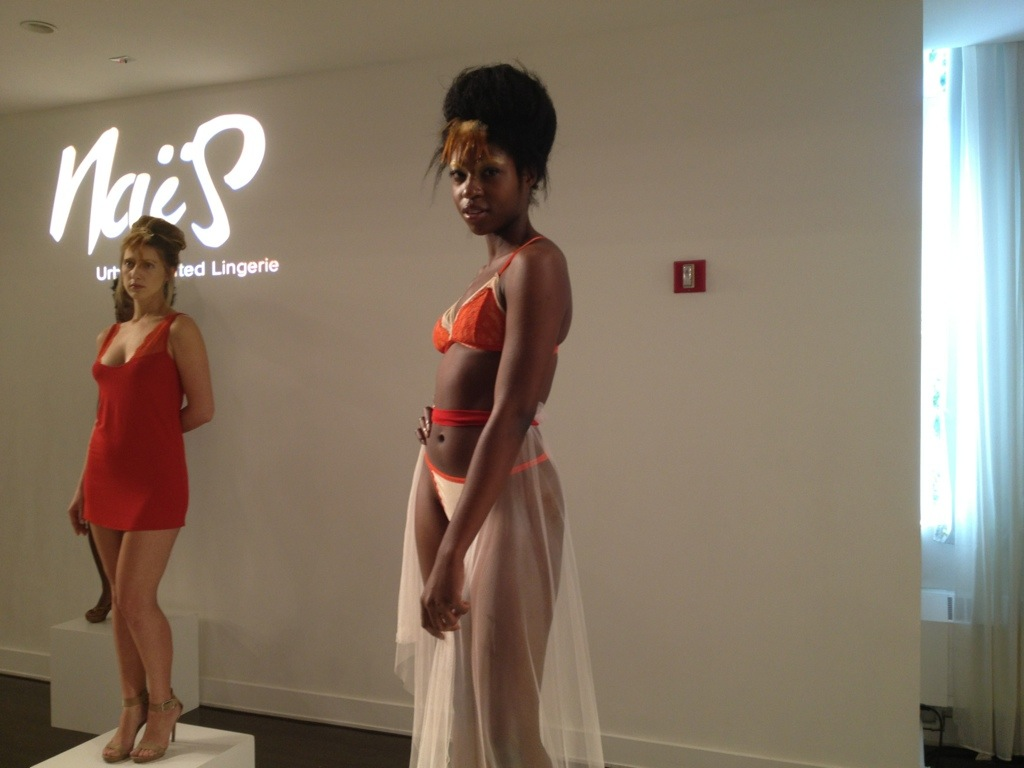 NaiS at Lingerie Fashion Week