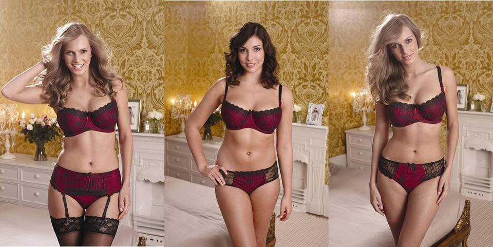 Mademoiselle red black by Bravissimo