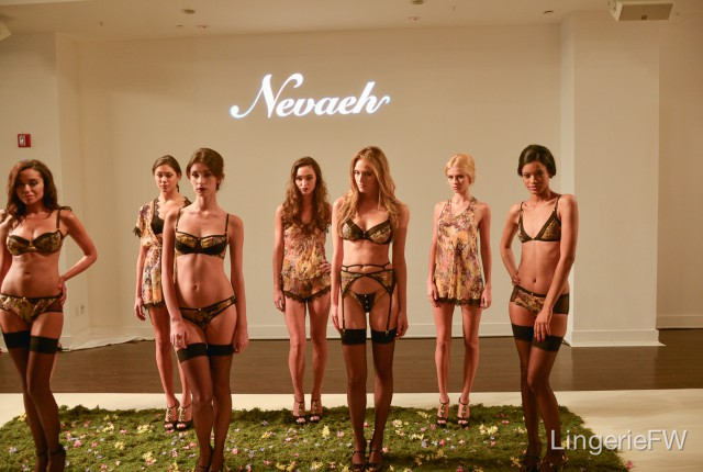 """A Taste of Honey"" Spring/Summer 2014 Presentation at Lingerie Fashion Week"