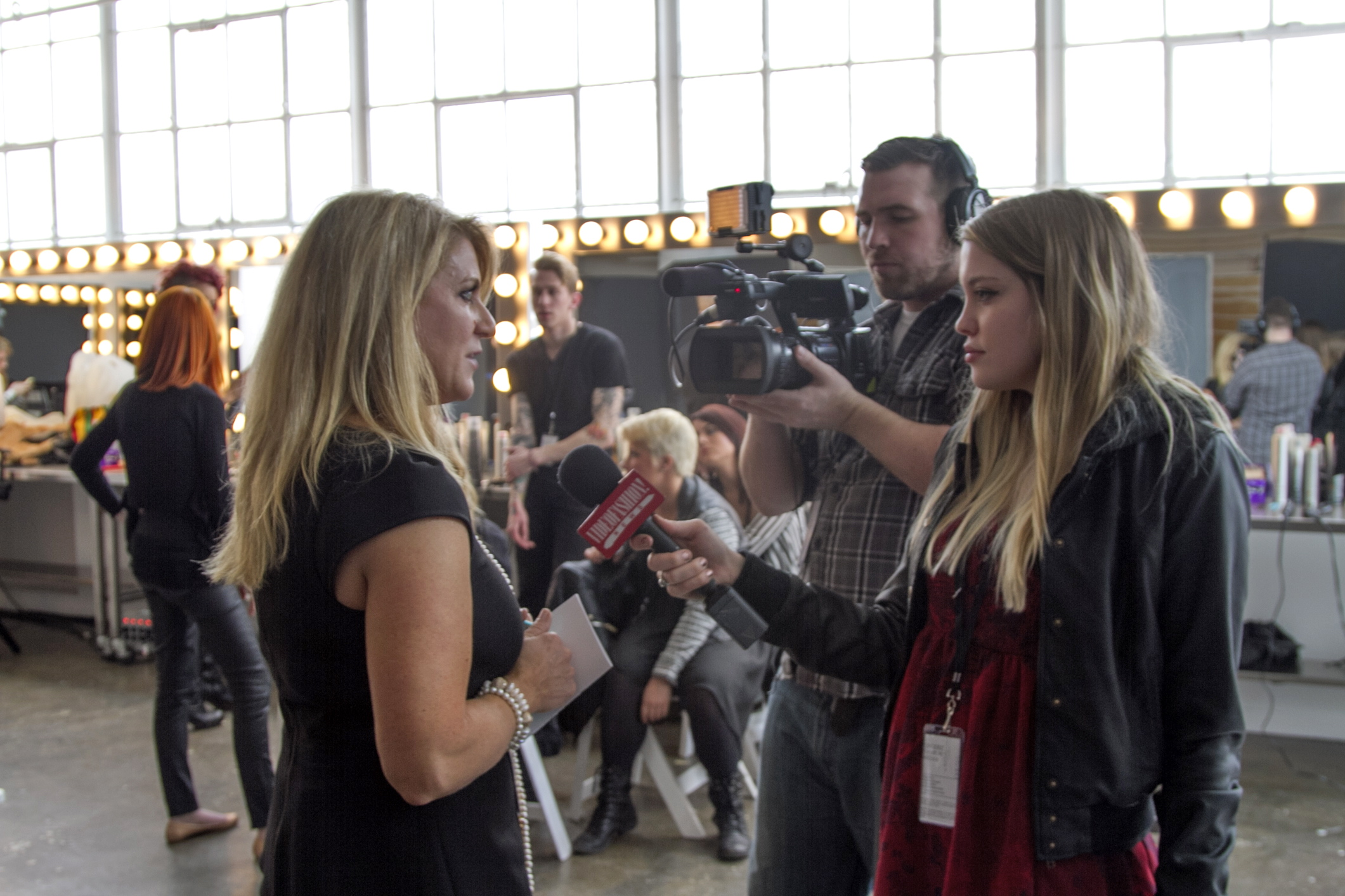 Behind the scenes at Lingerie Fashion Week