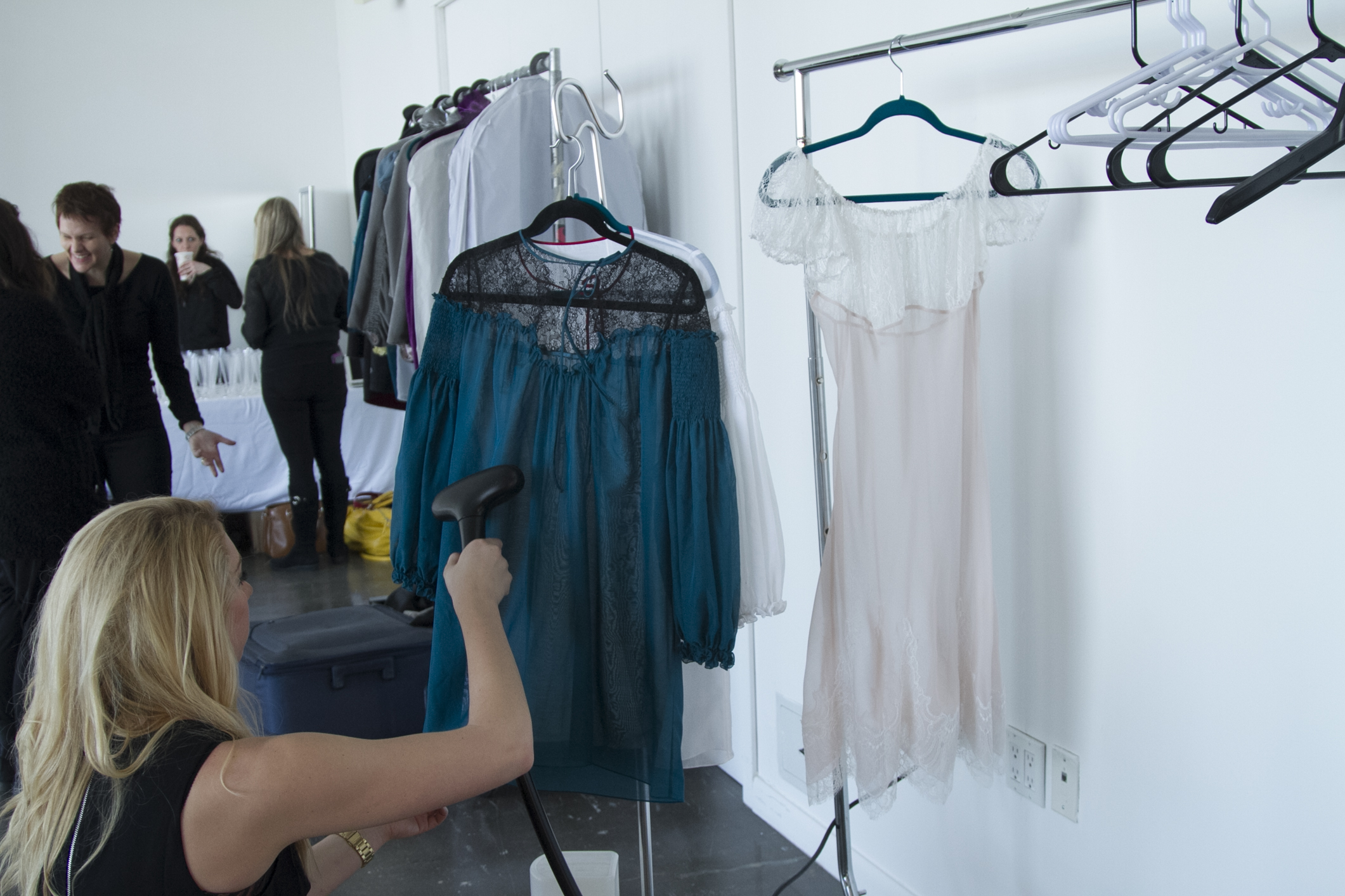 Backstage with Layneau at Lingerie Fashion Week