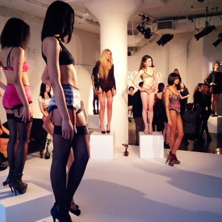 Clare Bare at Lingerie Fashion Week Fall/Winter 2014